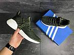 Мужские кроссовки Adidas (темно-зеленые), фото 5