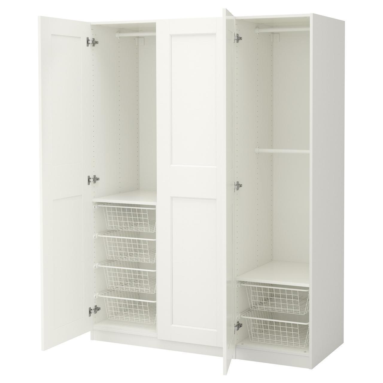 Шкаф IKEA PAX Grimo белый 092.192.16