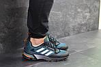 Чоловічі кросівки Adidas Fast Marathon 2.0 (синьо-білі), фото 2