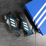 Чоловічі кросівки Adidas Fast Marathon 2.0 (синьо-білі), фото 4