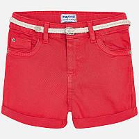 Персиковые шорты для девочки 275-44, Размер одежды 10/140см