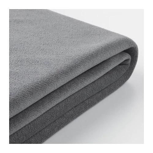 Чехол для 4-местного углового дивана с открытой стороной IKEA GRÖNLID Ljungen серый 592.561.12