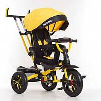 Велосипед - коляска Turbotrike M 4058-7 на надувных колесах Желтый