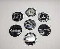 Эмблема клавиши управления мультимедиа Mercedes AMG Brabus Lorinser Affalterbach