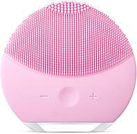 Щетка для лица силиконовая электрическая FOREVER Lina Mini 5051 4363 pink