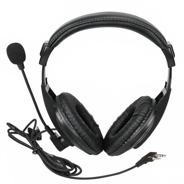 Гарнитура Retevis Walkie Talkie Headset Earpiece Kenwood (двусторонняя радиосвязь)