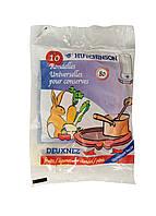 Набор силиконовых прокладок для стеклянных банок (10шт) Hutchinson 8х5,6х0,25см Красный