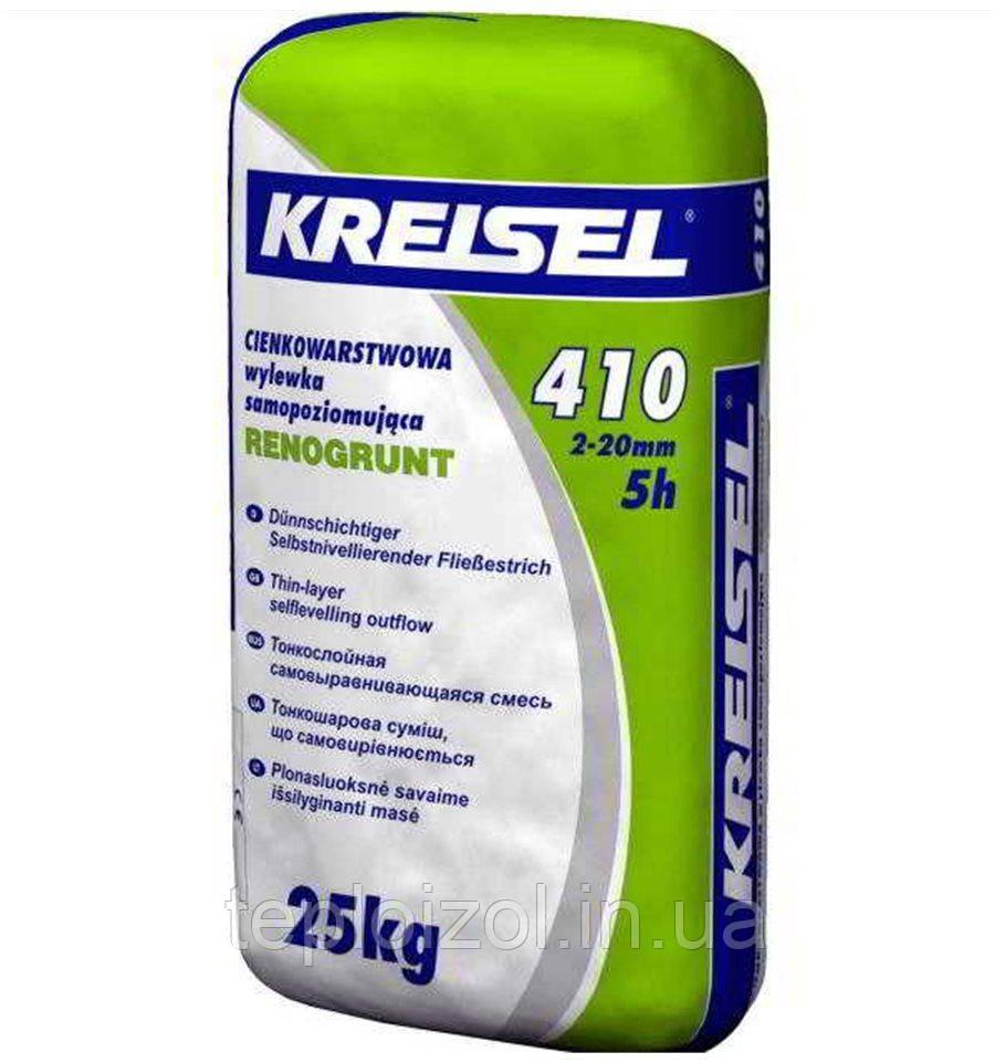 Суміш для підлоги самовирівнююча Kreisel (Крайзель) 410, 25 кг