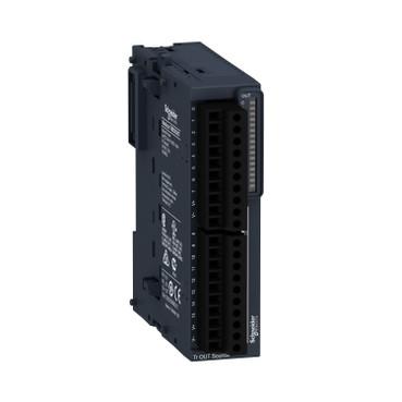 Модуль розширення TM3 - 16 DQ (16 дискретних виходів,транзисторні) для контролерів Modicon M221/ M241 TM3DQ16T