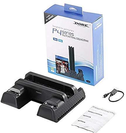 Док-станция охлаждающий вентилятор DOBE TP4-882 PS4 Slim Pro