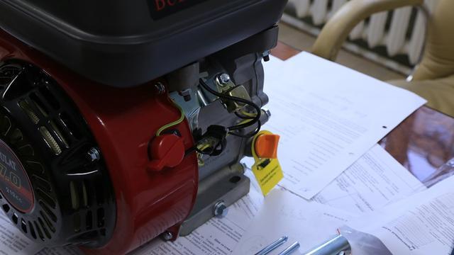 Регулятор оборотов бензинового двигателья Weima ВТ170F-S (шпонка, вал 20мм)