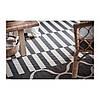Ковер IKEA STOCKHOLM 2017 250x350 см безворсовый ручная работа полосатый серый 803.452.39, фото 2