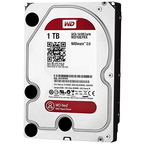 "Жесткий диск 3.5"" 1TB Western Digital (WD10EFRX) NAS ware 3.0, 64 MB, SATA III, Caviar Red"