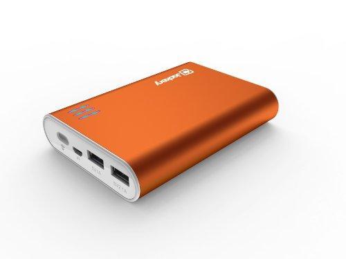 Зарядное устройство Jackery Giant+ 12000mAh 2 ports 5V/3.1A, фонарик, Orange