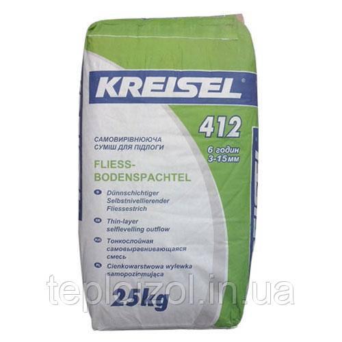 Суміш для підлоги самовирівнююча Kreisel (Крайзель) 412, 25 кг