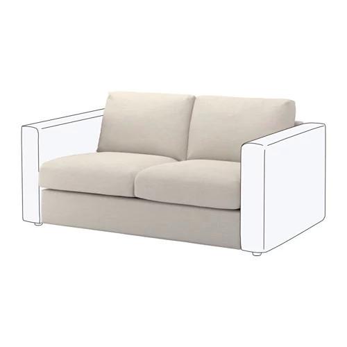 Секция 2-местная для модульного дивана IKEA VIMLE Gunnared бежевый 792.194.87