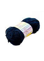 Нитки для вязания 88902 40г Alfredo 40г Темно-синий