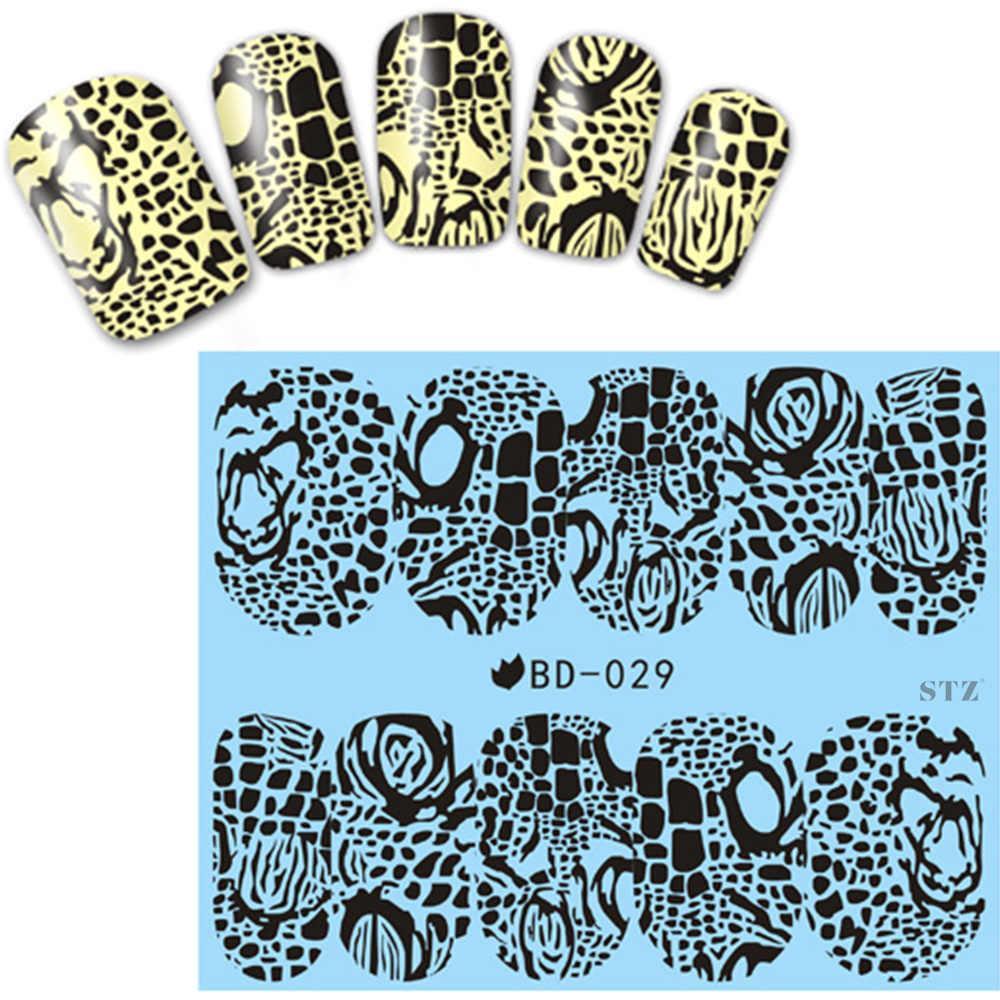 Слайдер-дизайн для ногтей BD-029 6.2*5.2 см