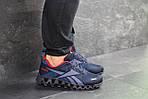 Мужские кроссовки Reebok Zignano (темно-синие с голубым), фото 2