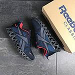 Мужские кроссовки Reebok Zignano (темно-синие с голубым), фото 3