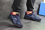 Мужские кроссовки Reebok Zignano (темно-синие с голубым), фото 4
