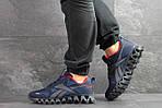 Мужские кроссовки Reebok Zignano (темно-синие с голубым), фото 6