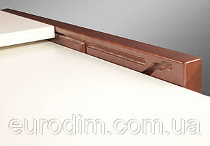 Стол обеденный Степ ДСП 800 орех/ваниль, фото 3