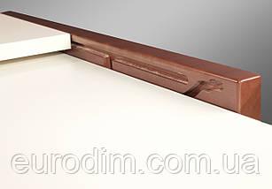 Стол Степ ДСП 800 орех/ваниль, фото 3