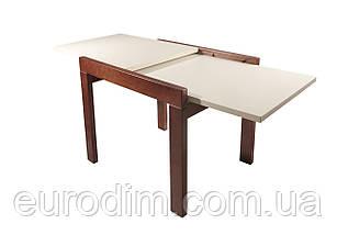 Стол обеденный Степ ДСП 800 орех/ваниль, фото 2