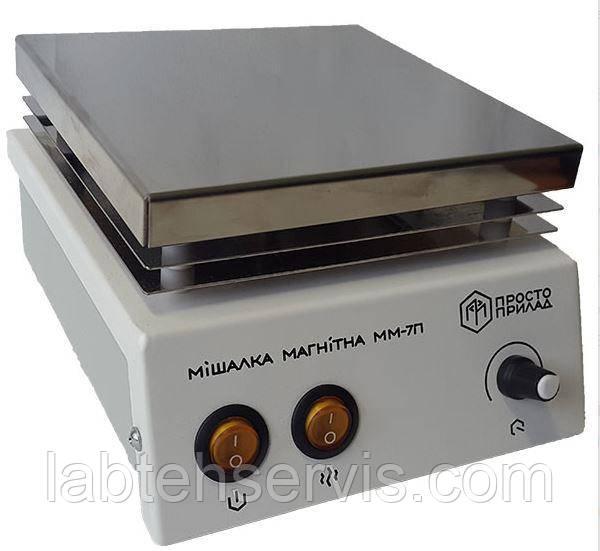 Магнітна мішалка з підігрівом ММ-7П