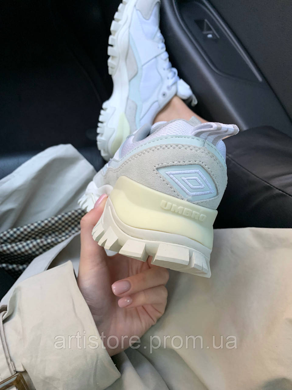 615ed7cd Кроссовки Umbro Bumpy White with grey Белые с серым: продажа, цена в ...