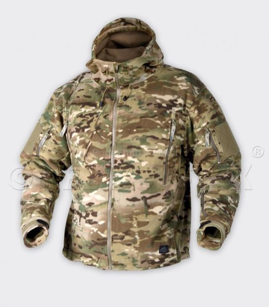 Кофта Helikon-Tex Patriot Heavy Fleece Jacket-Coyote XL BL-PAT-HF-11 (BL-PAT-HF-11  XL) (BL-PAT-HF-1