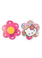 "Гирлянда ""Hello Kitty"" 400х22см Sanrio 22х22см Розовый, Желтый, Белый"