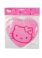 "Гирлянда ""Hello Kitty"" сердце 400х20см Sanrio 18х22см Розовый, Белый"