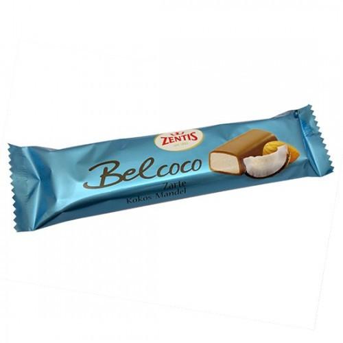 Батончик Zentis Belcoco марципановый с кокосом 60 гр. Германия