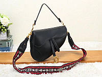 Женская модная сумка копия Диор Dior эко-кожа дорогой Китай черная