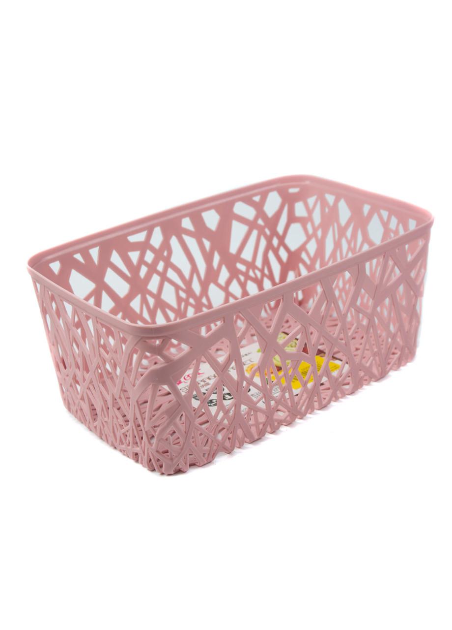 Корзина для хранения вещей Emic 28,5х17х12см Розовый