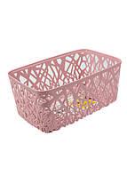Корзина для хранения вещей Emic 28,5х17х12см Розовый, фото 1