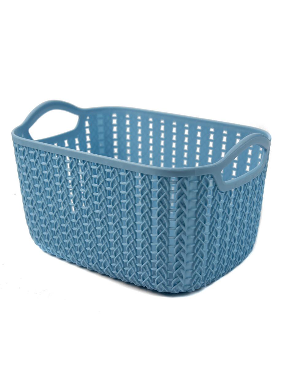 Корзина для хранения вещей Yimei 24х16,5х13,5см Голубой