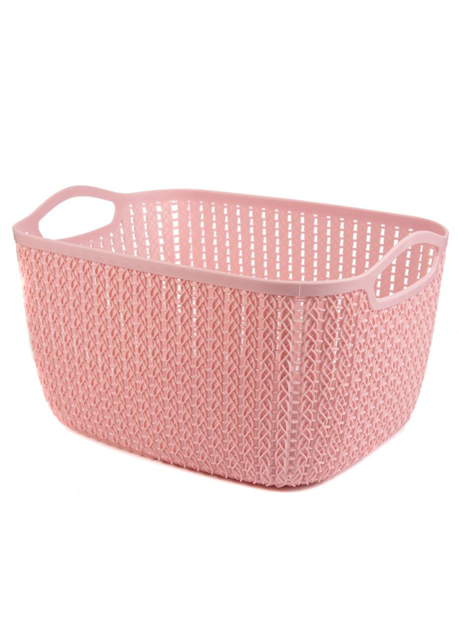 Корзина для хранения вещей Emic 39х29х22см Розовый