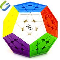 Логічна гра Мегамінкс 3 × 3 YJ MGC Megaminx Magnetic, магнітний, стікери, фото 1