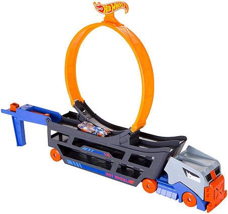 Трек Хот Вилс Автовоз с петлей Крутые трюки и гонки Hot Wheels Stunt & Go Track Set, фото 2