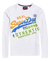 Оригинальный Лонгслив Superdry Vintage Authentic long sleeve top XL