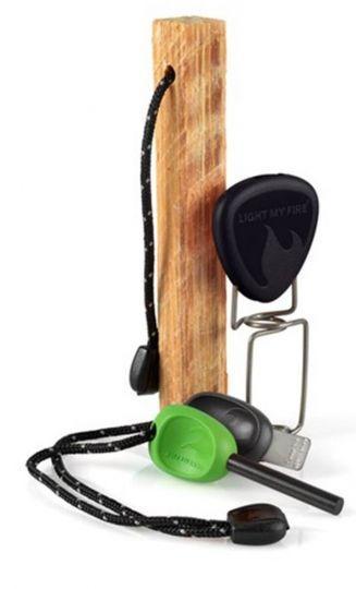 Набор для барбекю Light My Fire FireLighting Kit Green/Black LMF  (50674740), Швеция