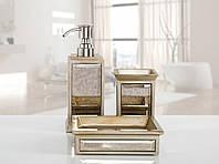 Комплект аксессуаров в ванную Irya Mirror bronz бронзовый (3 предмета)
