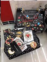 Женская модная сумка копия D&G Dolce&Gabanna эко-кожа дорогой Китай