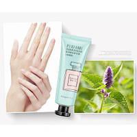 Крем для рук заживляющий с крапивой IMAGES Perfume Hand Cream голубой