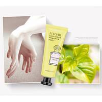 Крем для рук восстанавливающий с чаем IMAGES Perfume Hand Cream желтый