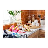 IKEA SOCKERKAKA Формочка для выпечки, разные оттенки розового, фото 3