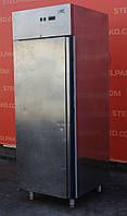 Холодильный шкаф глухой из нержавеющей стали «ISA SPA» полезный объем 700 л. (Италия), Б/у